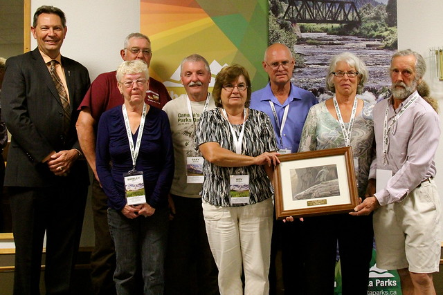 2013 Alberta Parks Volunteer Award Winners