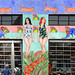 American Apparel Mural by eschongut