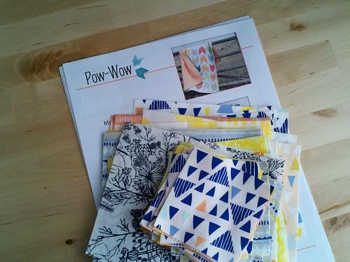 Tule Pow-Wow quilt