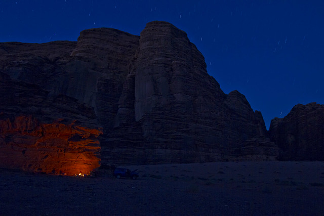 Camping Wadi Rum by CC user lawmurray on Flickr