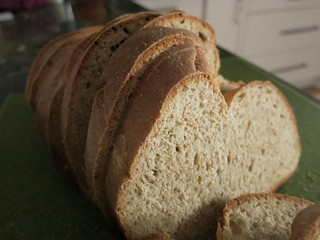 Whole Wheat Bread with Wheat Germ and Rye