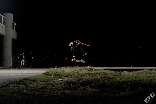 James Liao  heel flip