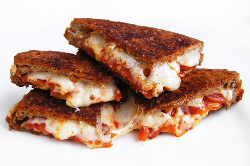 Baked Cheese Sandwich