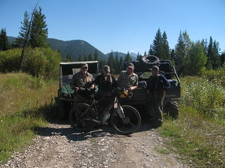 hunters in North Flathead