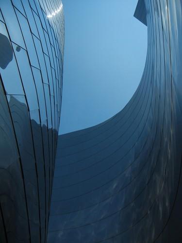 DSCN8564 _ Exterior Detail, Walt Disney Concert Hall, Los Angeles, July 2013
