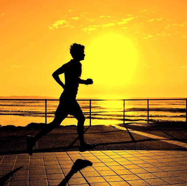 Sunrise Silhouette Runner