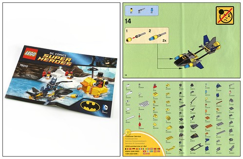 LEGO Super Heroes DC Universe 76010 Batman The Penguin Face Off ins