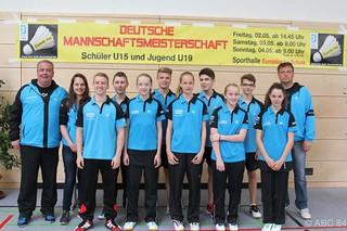 02.05.-04.05.2014 Deutsche Mannschaftsmeisterschaft U15 Dortelweil