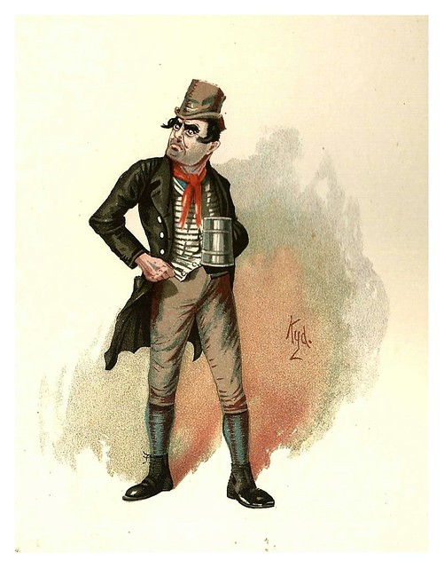 001-Bill Sikes-Character Sketches from Charles Dickens…1889- J. Clayton Clarke - The Victorian Web