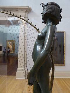Edward Onslow Ford, The Singer, bronze 1889
