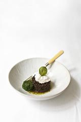 Ensalada de lentejas beluga - Black beluga lentils salad