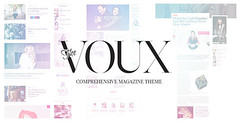 The Voux - A Comprehensive Magazine Theme (News /…