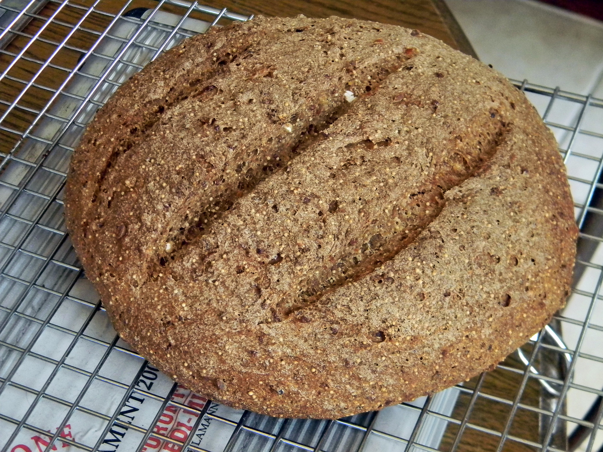 Kitchen Sink Bread (AKA Hearty Multigrain Bread)