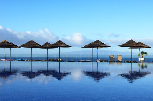 Swimming pool, Hotel Barcelo Santiago,Puerto Santiago, Tenerife