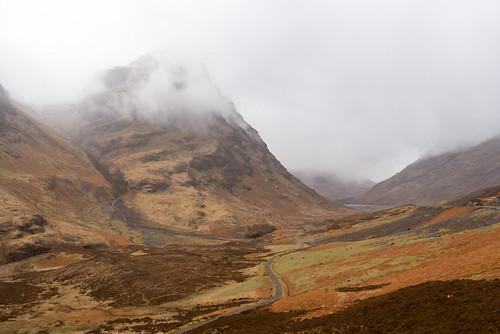 Scottish scene near Glencoe