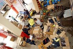 Bomberos recibieron donaciones de ONG española