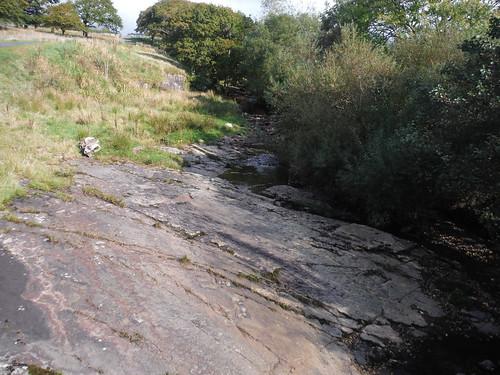 Nant Llech just above Sgwd Henrhyd from Nant Llech Bridge