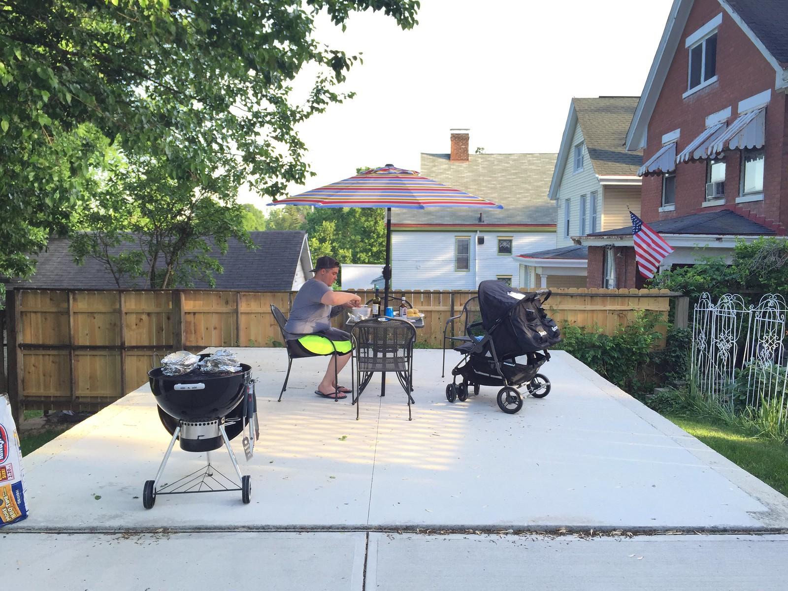 Backyard Fence/Deck Progress