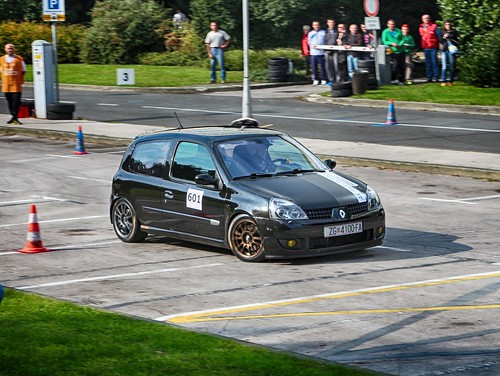 renault clio rs 2nd place autoslalom zagreb