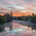 Spokane River Pano by CraigGoodwin2