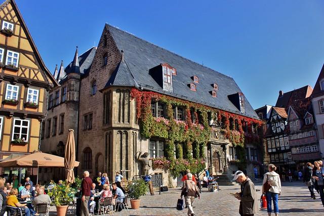 Quedlinburg: Rathaus