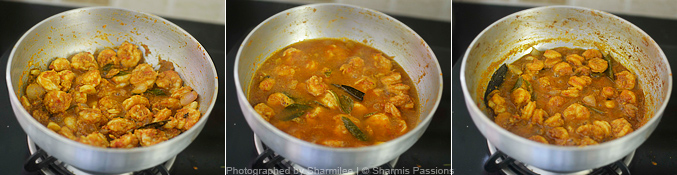 Prawns Gravy Recipe - Step3