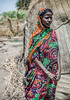 Standing Afar Woman Taken with a
