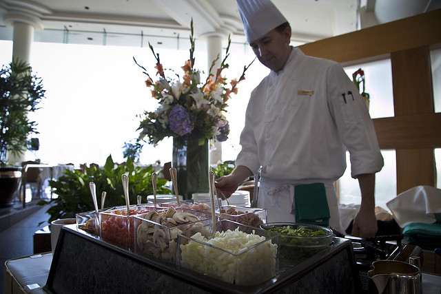 Easter Sunday Brunch at the Pan Pacific Vancouver