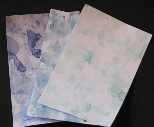 watercolor paper towel technique 001