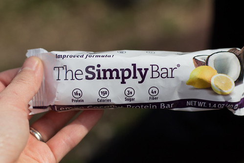 Coconut Lemon Simply Bar