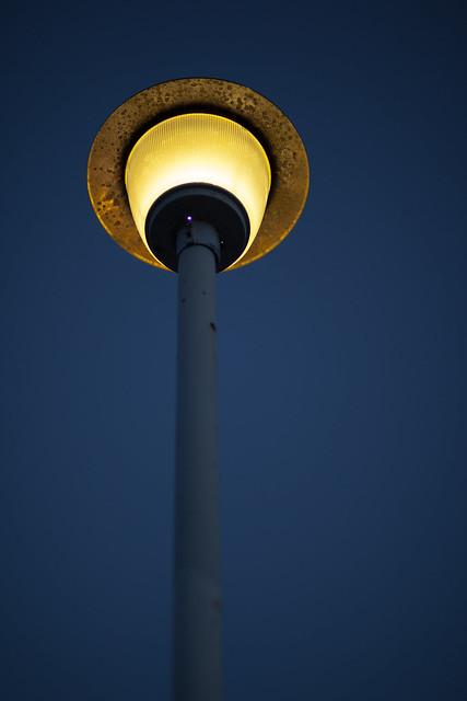 公園の電灯