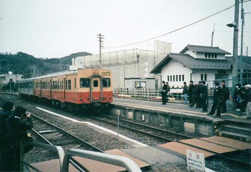 キハ30入線