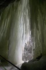 Oberstdorf Germany Breitachklamm canyon icicles Eiszapfen 'Lens Nikon 16-85mm f/3.5-5.6G ED VR DX AF-S Nikkor'