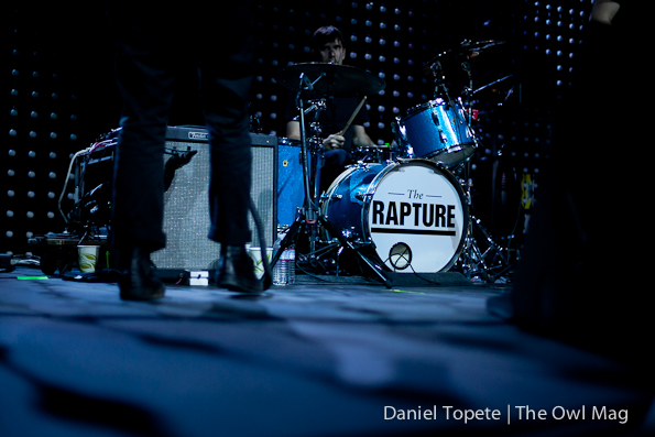 The Rapture @ The Fox Theatre, Oakland 4/17/12