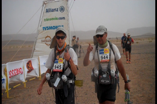 Army Africa personnel take on 'Marathon of the Sands'