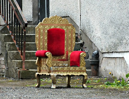 Anyone lost a throne?