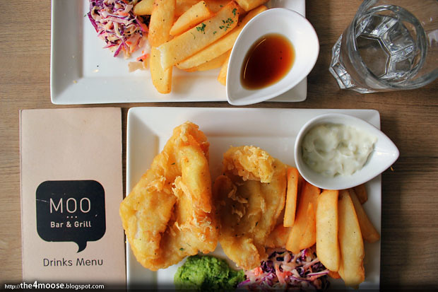 Moo Bar & Grill - Fish and Chips