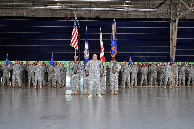 Sandston-based aviation battalion conducts change of ...
