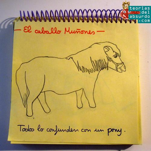 el caballo muñones humor absurdo