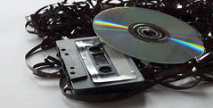 Cassette and CD