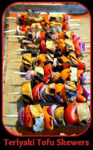Teriyaki Tofu Skewers1