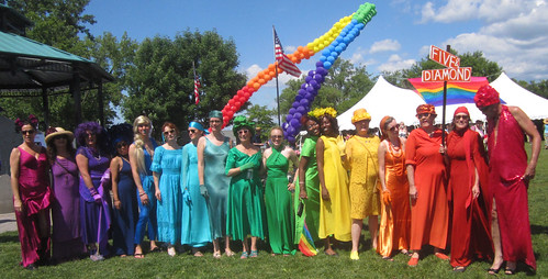 Hudson Pride Rainbow 2012 by Five and Diamond