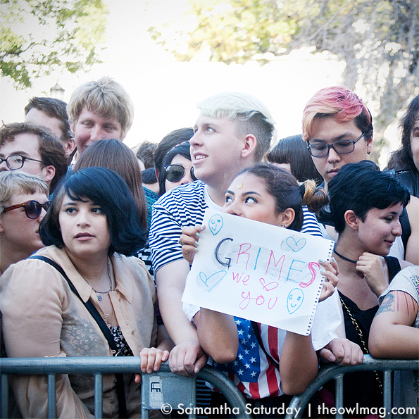 Grimes @ Make Music Pasadena 2012