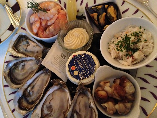 Dinner at Chateau Bagnolet: Fruits of the Sea