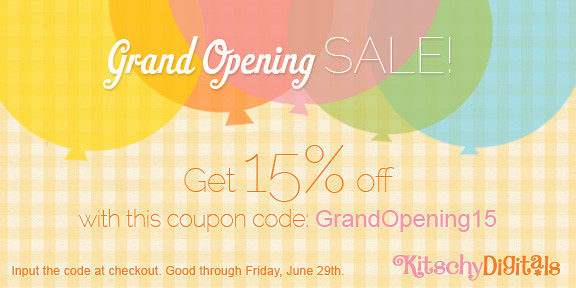 Kitschy Digitals Grand Opening
