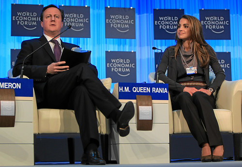 The Global Development Outlook: Cameron, H.M. Queen Rania