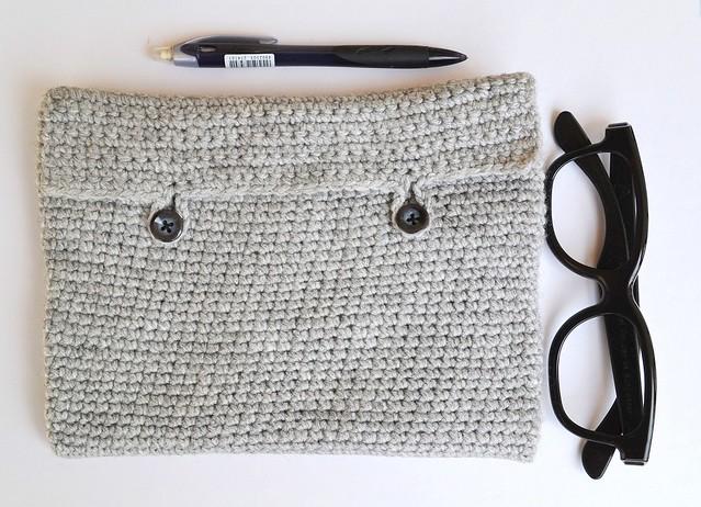 iPad sleeve crochet case