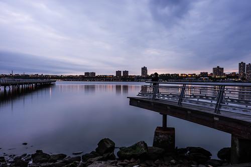 nyc newyorkcity longexposure reflection night landscape newjersey cloudy digitalphotography flickrfriday nikond600