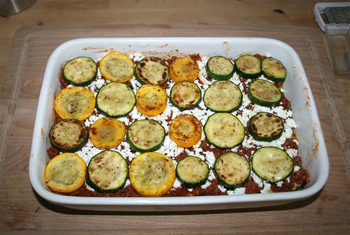55 - Zucchini einlegen / Add zucchini