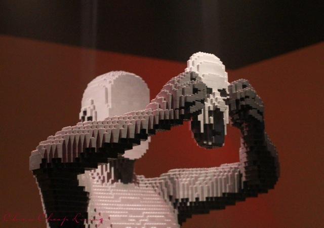Art of the Brick Mask by Nathan Sawaya by Chic n Cheap Living